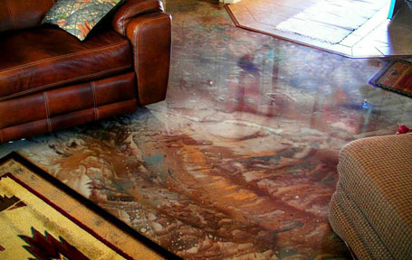 An Elegant Seamless Epoxy For New Or Resurfacing Flooring